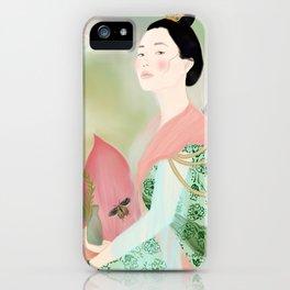 guan yin, goddess of mercy iPhone Case