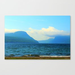 Summer Day at North Beach - Lake Willoughby Canvas Print