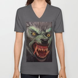 American Werewolf In London Unisex V-Neck