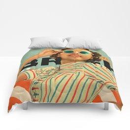Bright Cinnamon Comforters