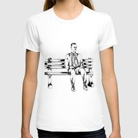 forrest gump T-shirts featuring Forrest Gump by Christine S.