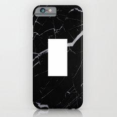 Black Marble - Alphabet I Slim Case iPhone 6s