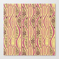 Peapods - Honeysuckle Gold Canvas Print