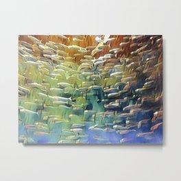 In the Fish Bowl Metal Print