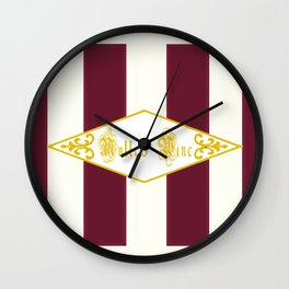 Mulled Wine Antique Wall Clock