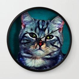 Cat #cat #kitty Wall Clock