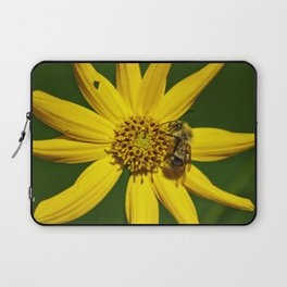 The Bumble and The Sunflower #3 Laptop Sleeve