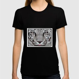 White Tiger with a little tougue T-shirt