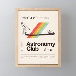 Astronomy Club Framed Mini Art Print