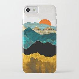 Turquoise Vista iPhone Case