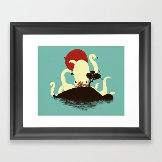 Octopus's Garden Framed Art Print