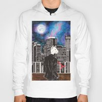 cityscape Hoodies featuring Cityscape by Toa's Wildscape