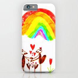 MARMOTS LOVE iPhone Case