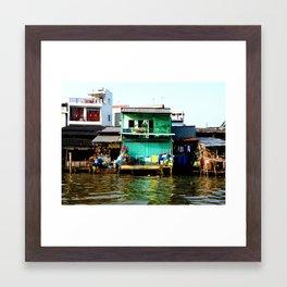 Vietnam colors Framed Art Print