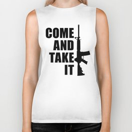 Come and Take it with AR-15 Biker Tank