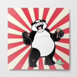 Ice Cream Panda! -BANG Metal Print