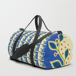 blue vine ... Duffle Bag