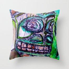 Sacred New Aiyansh, Nisga'a Totem Throw Pillow