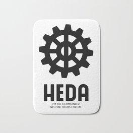 Heda (Commander) Bath Mat