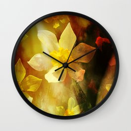 Daffie Dreams Wall Clock