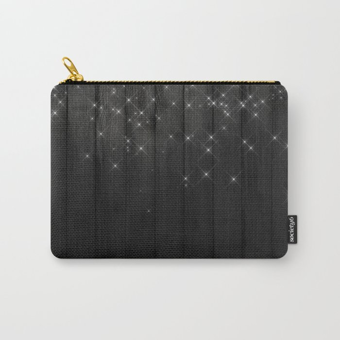 Fairy Lights on Wood 05 Carry-All Pouch