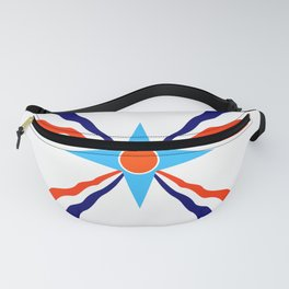 Assyrian people  ethnic flag Fanny Pack