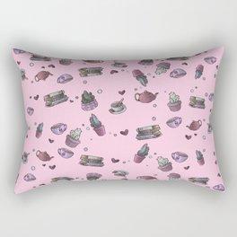 Cactus at Teatime Rectangular Pillow