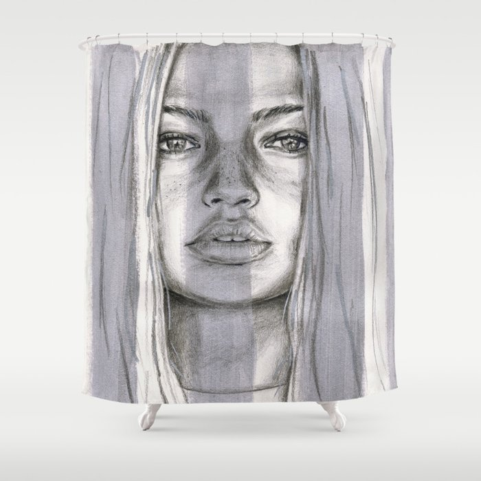 Gigi Shower Curtain by saralucasi | Society6
