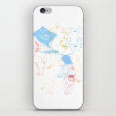 Gods of the Planets iPhone & iPod Skin