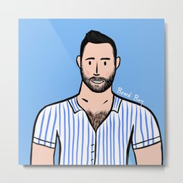 Beard Boy: Remi Metal Print