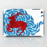 elk iPad Cases featuring Elk by Deadbirds