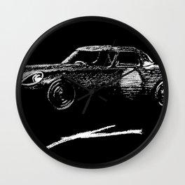 Jaguar sl Wall Clock