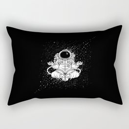 Becoming One With The Universe Rectangular Pillow