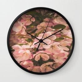 Dreamy Sakura (Cherry Blossoms) Wall Clock