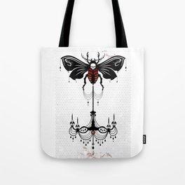 ent. chandelier Tote Bag
