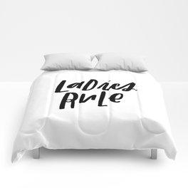 Ladies Rule Comforters