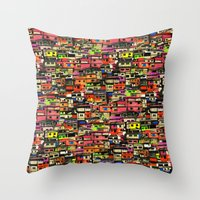 brazil Throw Pillows featuring Brazil by India Panzid