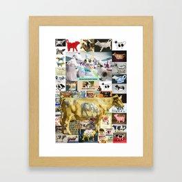 COW SYNECTIC2 #18 Framed Art Print