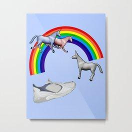 Charlie The Unicorn Metal Print