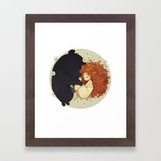 Quiet ( Brave ) Framed Art Print