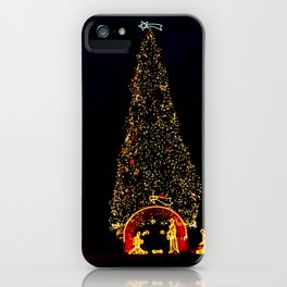 Christmas in Rome iPhone Case