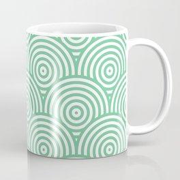 Scales - Green & White #353 Coffee Mug