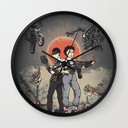 Pure Heroines Wall Clock
