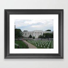 Arlington National Cemetery Framed Art Print