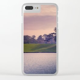 Stag spotting at Sunset Clear iPhone Case