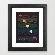 Many Lands Under One Sun Framed Art Print
