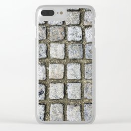 Cobbled Clear iPhone Case