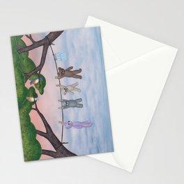 meadow fresh teddy bears Stationery Cards