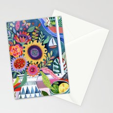Bouquet by the Bay Stationery Cards
