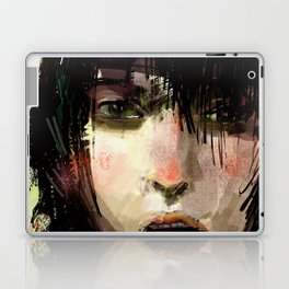 Poster Girl Laptop & iPad Skin